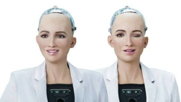 Grace infirmière robot
