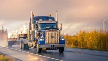 Camions à conduite autonome