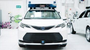 La Toyota Sienna autonome d'Aurora pour le covoiturage