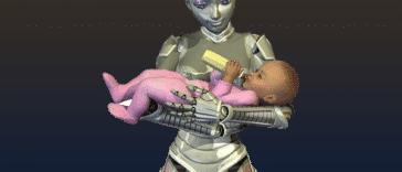 Un robot pourrait donner naissance à un bébé