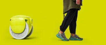 Gitamini, le bagage-robot