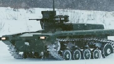 Marker UGV, le char autonome