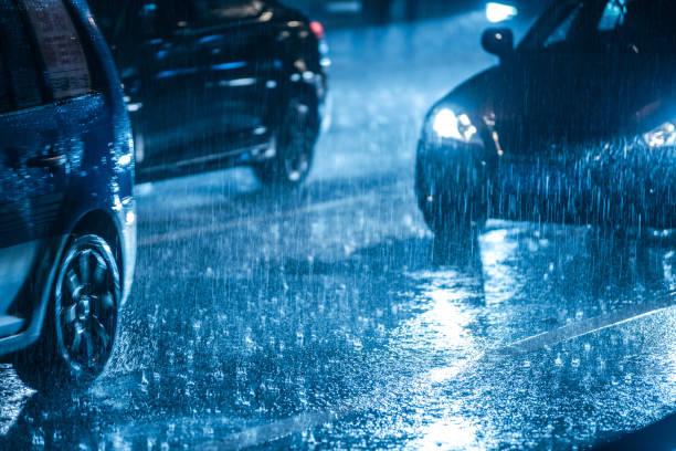 La pluie nuit aux systèmes d'aide à la conduite